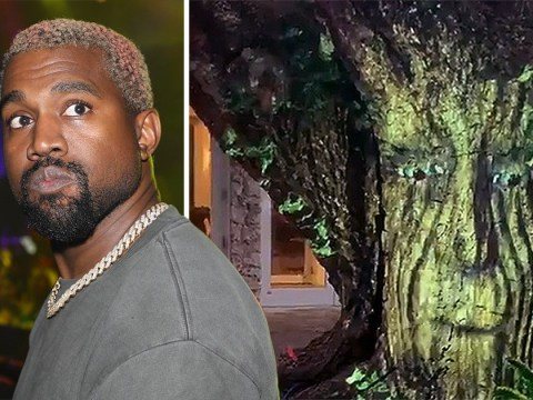 Kanye West is trolled by a talking and beatboxing tree after calling out to Bob Dylan for collaboration