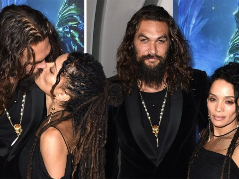 Jason Momoa wife Lisa Bonet are so in love at Aquaman premiere and we're in love with them