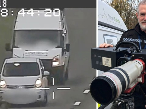 Tailgaters caught out from half a mile away by new long-range speed camera