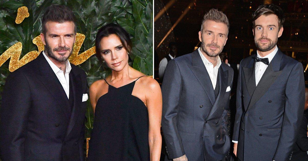 Did Jack Whitehall annoy Victoria Beckham with David jokes at Fashion Awards?