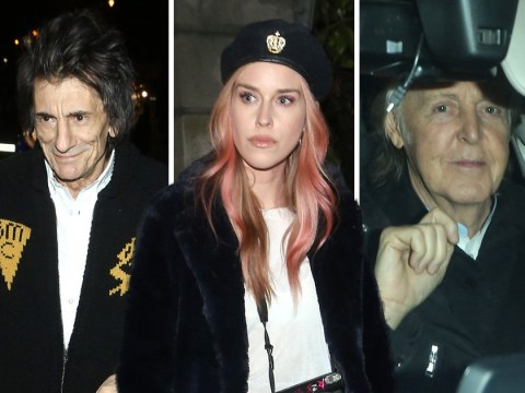 Paul McCartney, Ronnie Wood and Lady Mary Charteris lead star-studded guest list at Mick Jagger's Christmas party
