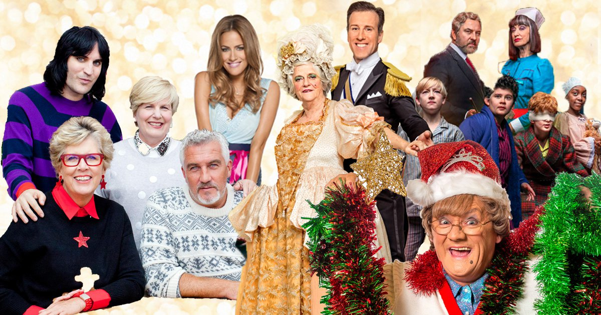 TV schedule for Christmas Eve, Christmas Day and Boxing Day