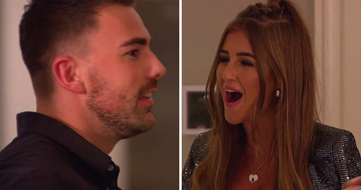 Love Island Christmas reunion: Sam Bird bleeped out as ex Georgia Steel gate crashes the party