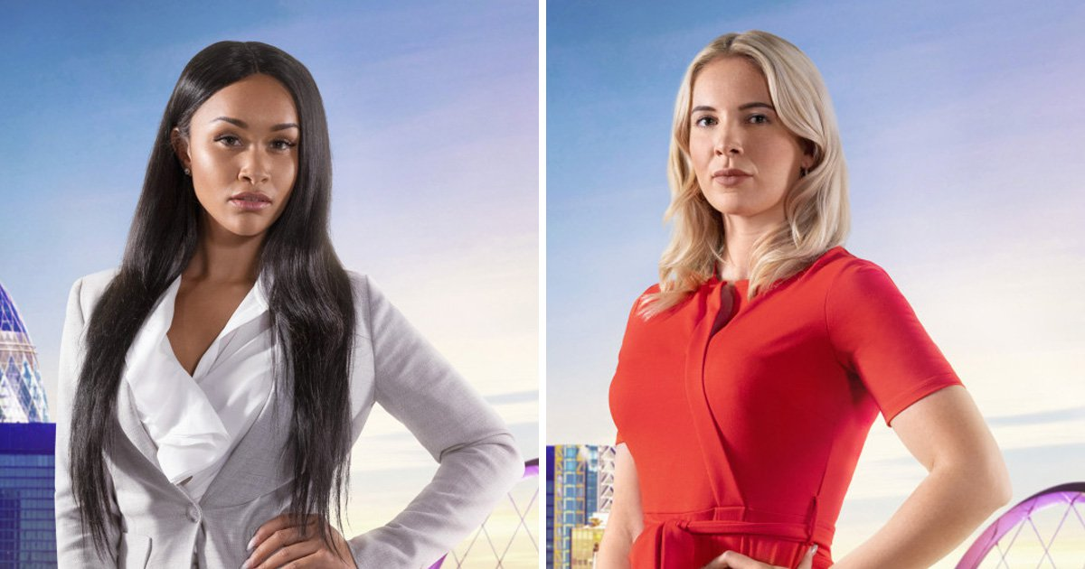 The Apprentice finalists Sian Gabbidon and Camilla Ainsworth declare this series Year of the Woman