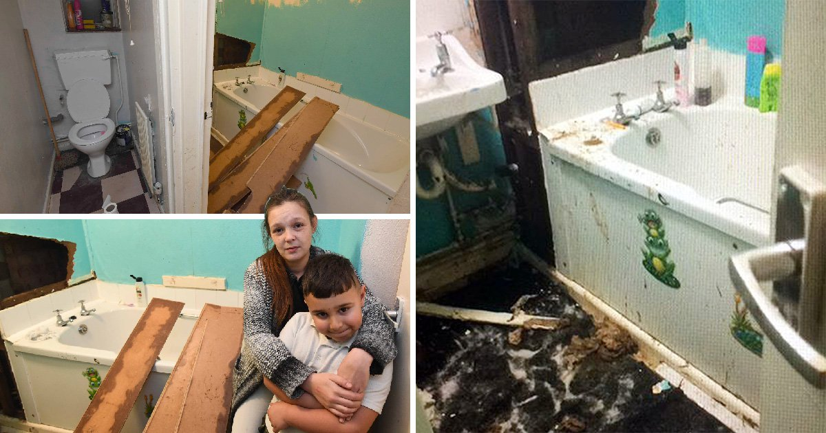 Pregnant mum washes kids in Morrisons toilets as bathroom is 'flooded with poo'
