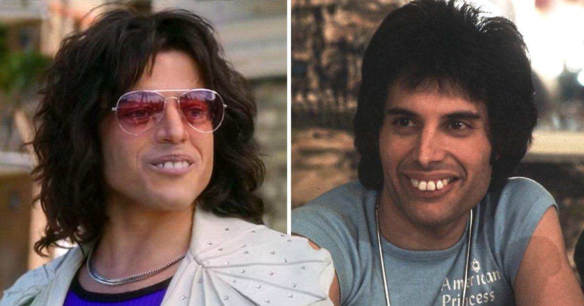 Rami Malek explains the 'pretty difficult' fake teeth he wore for Freddie Mercury role
