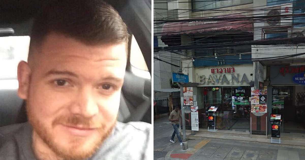 British dad found dead in Thai 'red light district' just hours after arriving