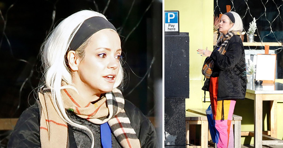Lily Allen wears £1600 worth of accessories as she shops for some more in Notting Hill