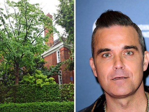 Robbie Williams 'wins war over underground swimming pool' after row with Jimmy Page