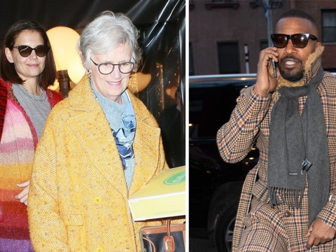 Katie Holmes celebrates 40th birthday with mum and Jamie Foxx amid wedding rumours