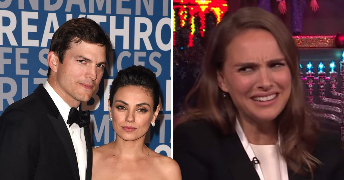 Natalie Portman reveals who's the better kisser out of Mila Kunis and Ashton Kutcher