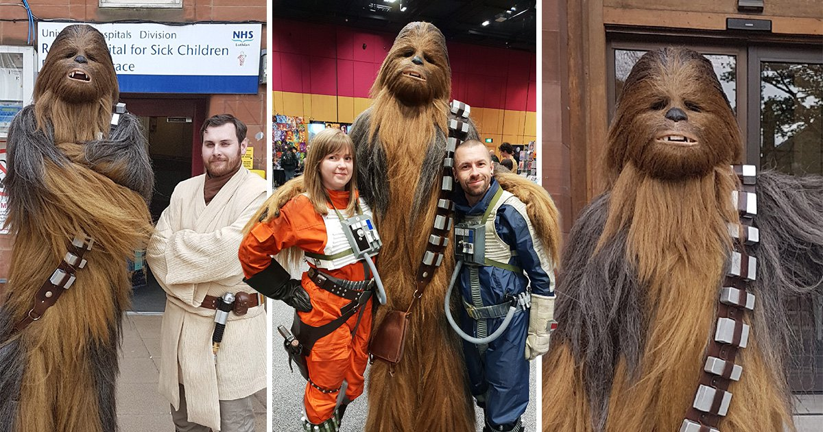 I'm Your Biggest Fan: The Star Wars obsessive who spent thousands to make his own 7-foot Chewbacca costume