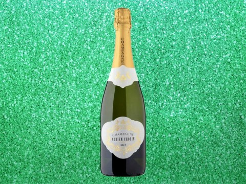 Morrisons is selling a 75cl bottle of champagne for £10