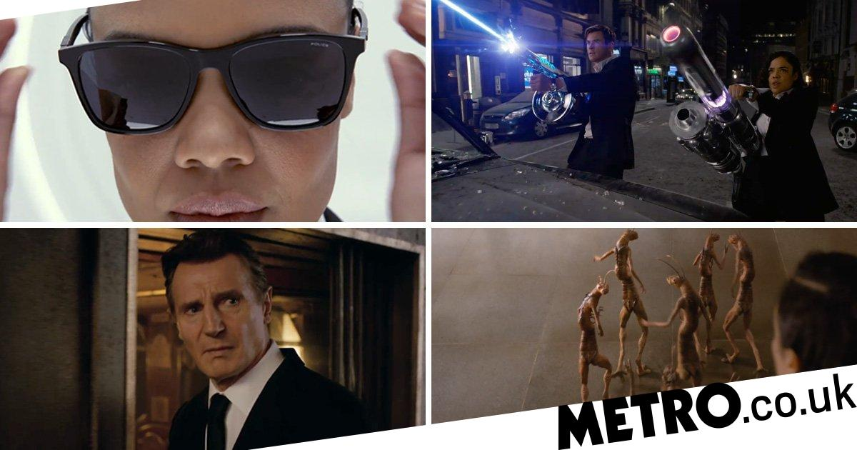 96db86094d9 First look at Men In Black  International with Tessa Thompson and Chris  Hemsworth