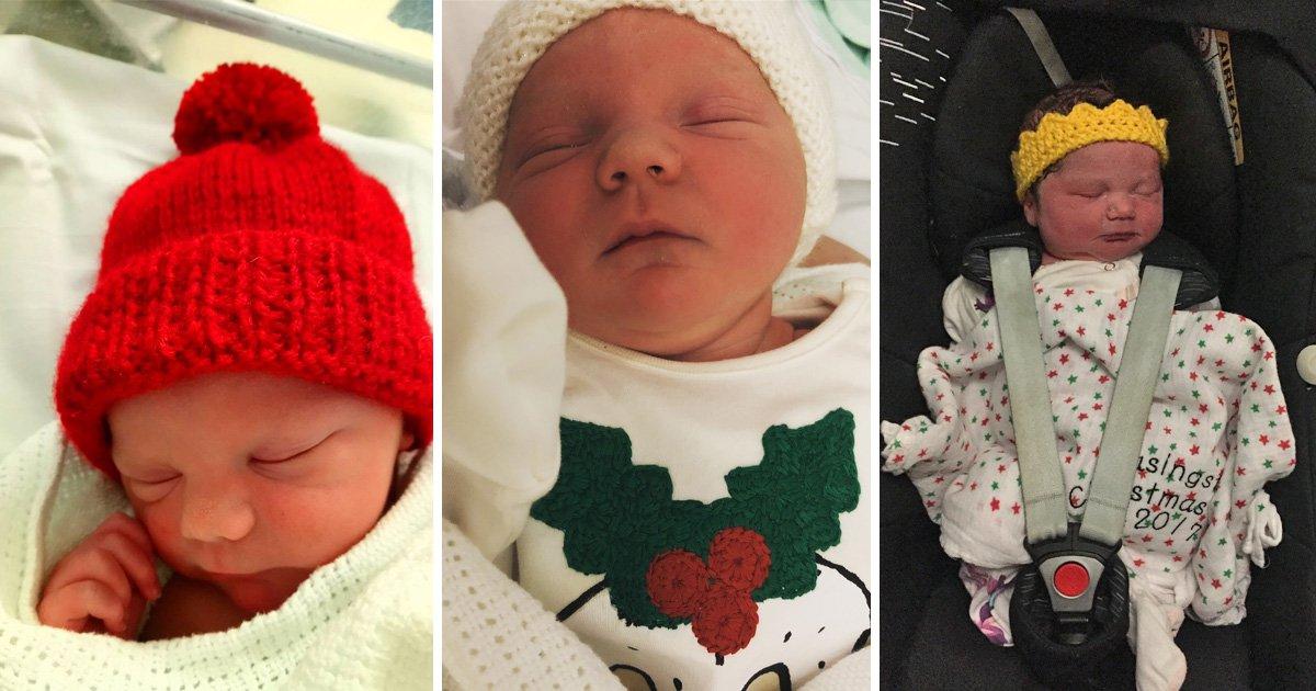Babies born on Christmas day