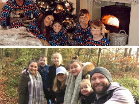 Couples bringing their kids together share what it's like blending their Christmas traditions