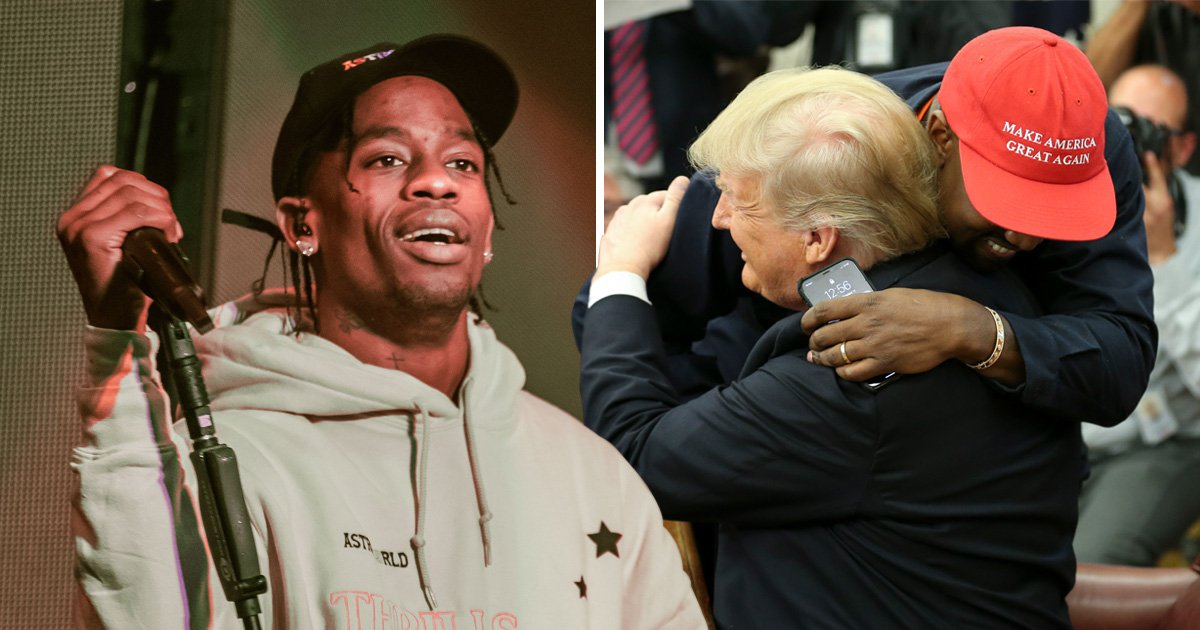 Travis Scott reveals what he thinks about Kanye West supporting Trump