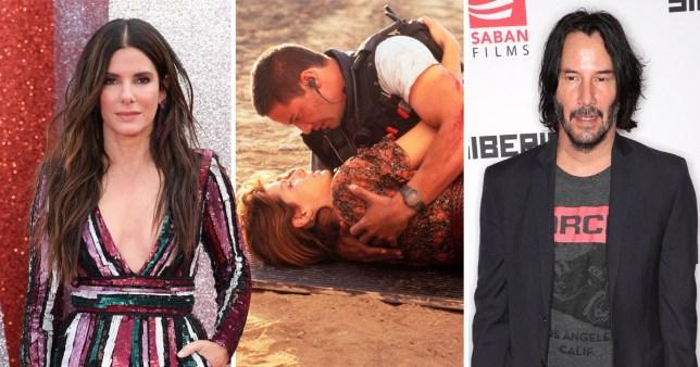 Sandra Bullock had a crush on Keanu in Speed