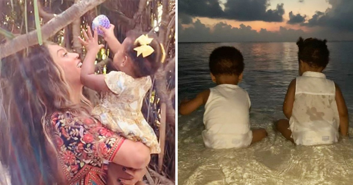 Beyoncé shares rare pictures of Carter twins Rumi and Sir and they're so big now