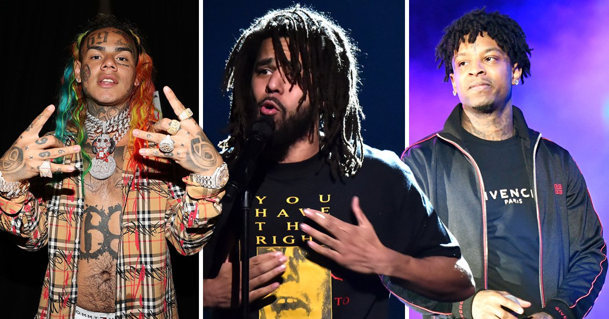 J Cole 'prays for' Tekashi69 as fans go crazy over surprise feature on 21 Savage's new album