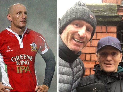 Former Wales captain Gareth Thomas reveals friendship with homeless man