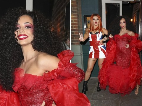 Jade Thirlwall slays in Diana Ross costume for epic birthday party – but Perrie Edwards is a no-show