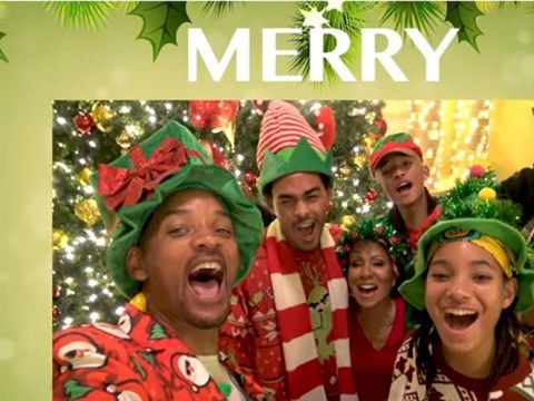 Will Smith shows how much fun his family are having at Christmas – and Tiffany Haddish is ready to 'come over'