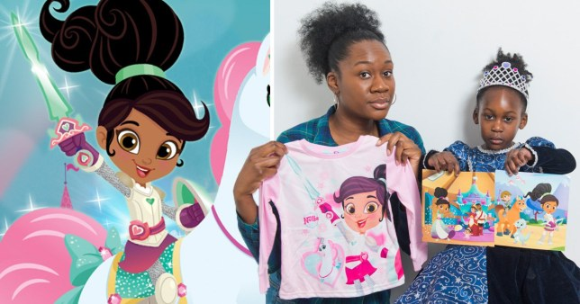 the latest new release cheaper sale Matalan accused of making Nickelodeon's Nella the Princess ...