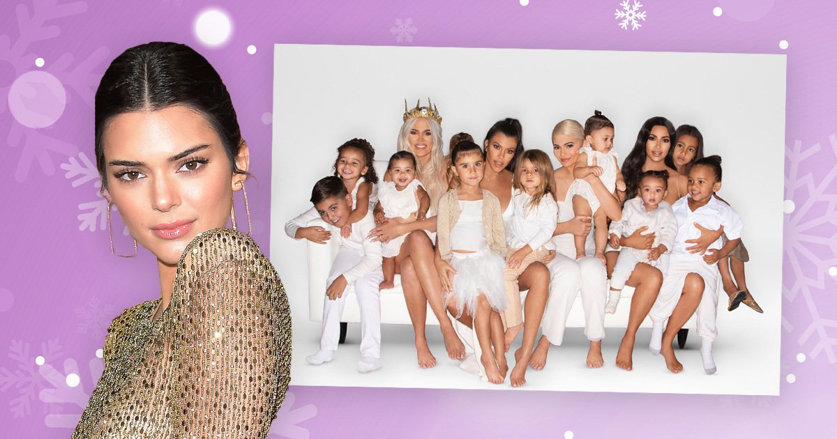 Where is Kendall Jenner on the Kardashian Christmas card? Fans wondering why model was shunned