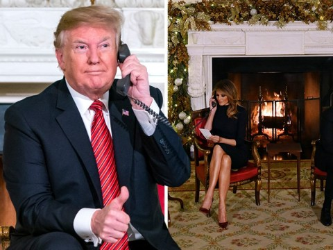 Trump hints that Santa isn't real during Christmas phone call to little girl