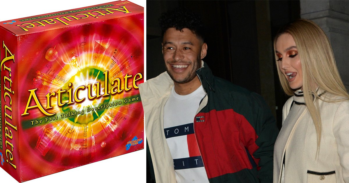 Little Mix's Perrie Edwards almost dumped her boyfriend Alex Oxlade over a 'horrendous' game of Articulate