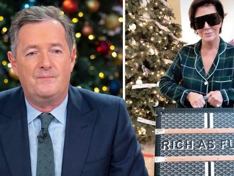 Piers Morgan goes in on 'repulsive' Kardashians after Kris Jenner poses with £12,000 'rich as f***' bag