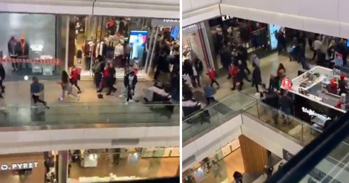 Shoppers run in panic at Westfield after 'mistaking loud bang for shooting'