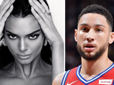 Ben Simmons fuels rumours he is still dating Kendall Jenner with flirty drool emoji on her Instagram photo