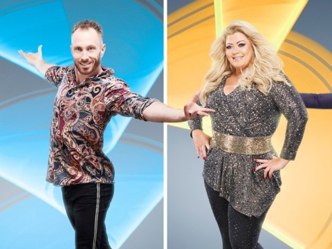 Gemma Collins goes glam as Dancing On Ice celebs pose with their partners ahead of first live show