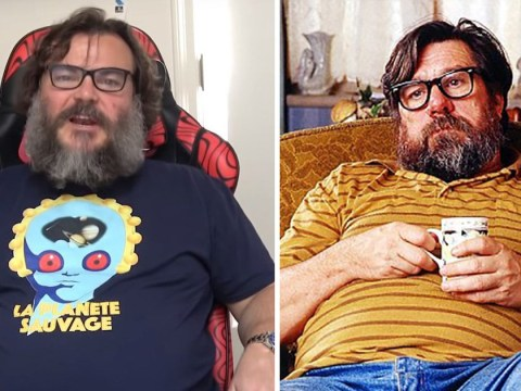 Jack Black has suddenly morphed into Jim Royle for YouTube channel and fans are all asking the same thing