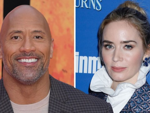 "Dwayne ""The Rock"" Johnson 'getting paid twice' Emily Blunt's salary for Disney's Jungle Cruise"