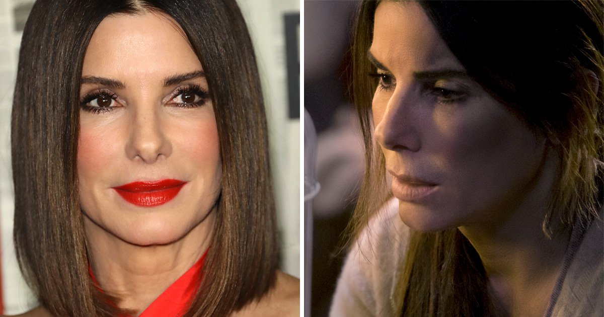 Sandra Bullock relates to Bird Box character because she 'panics a lot' as a mother