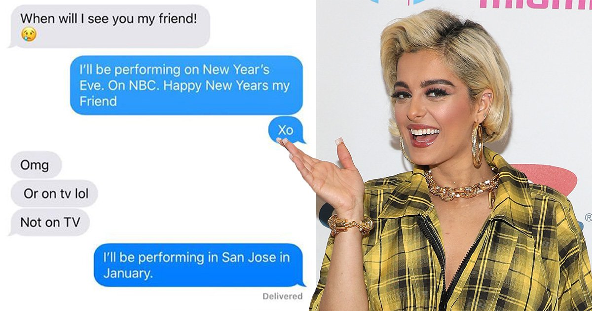 Bebe Rexha puts a married NFL player with 3 kids on blast for texting her