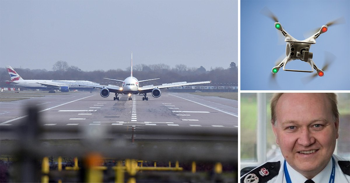 Mystery fingerprints on Gatwick drone 'fail to give police fresh lead'