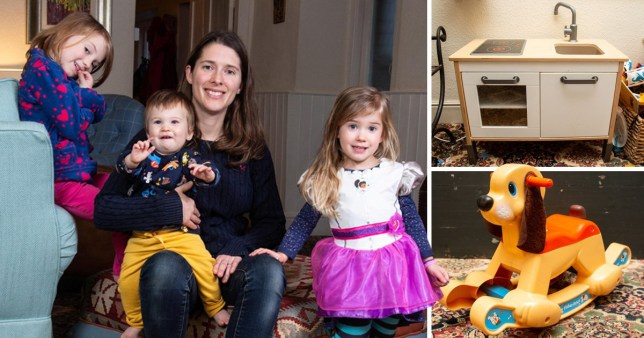 Britain's most frugal mum who vowed to go a whole year without buying anything new for her and her children has succeeded - for the second year in a row