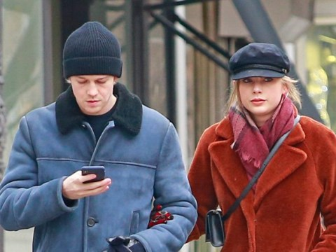 Taylor Swift and Joe Alwyn burn off the pigs in blankets with post-Christmas walk