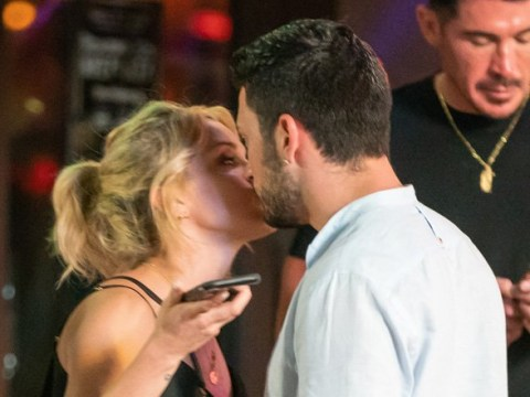 Strictly Come Dancing's Ashley Roberts and Giovanni Pernice get close outside Miami salsa club