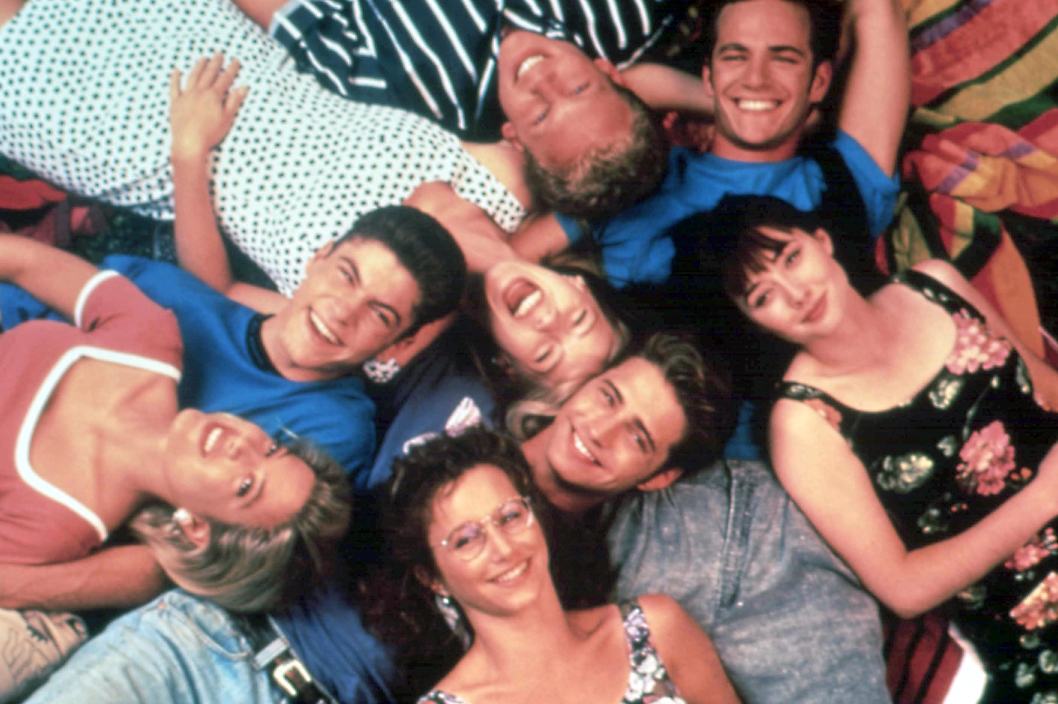 Where are the Beverly Hills 90210 cast now as they pay tribute to Luke Perry?