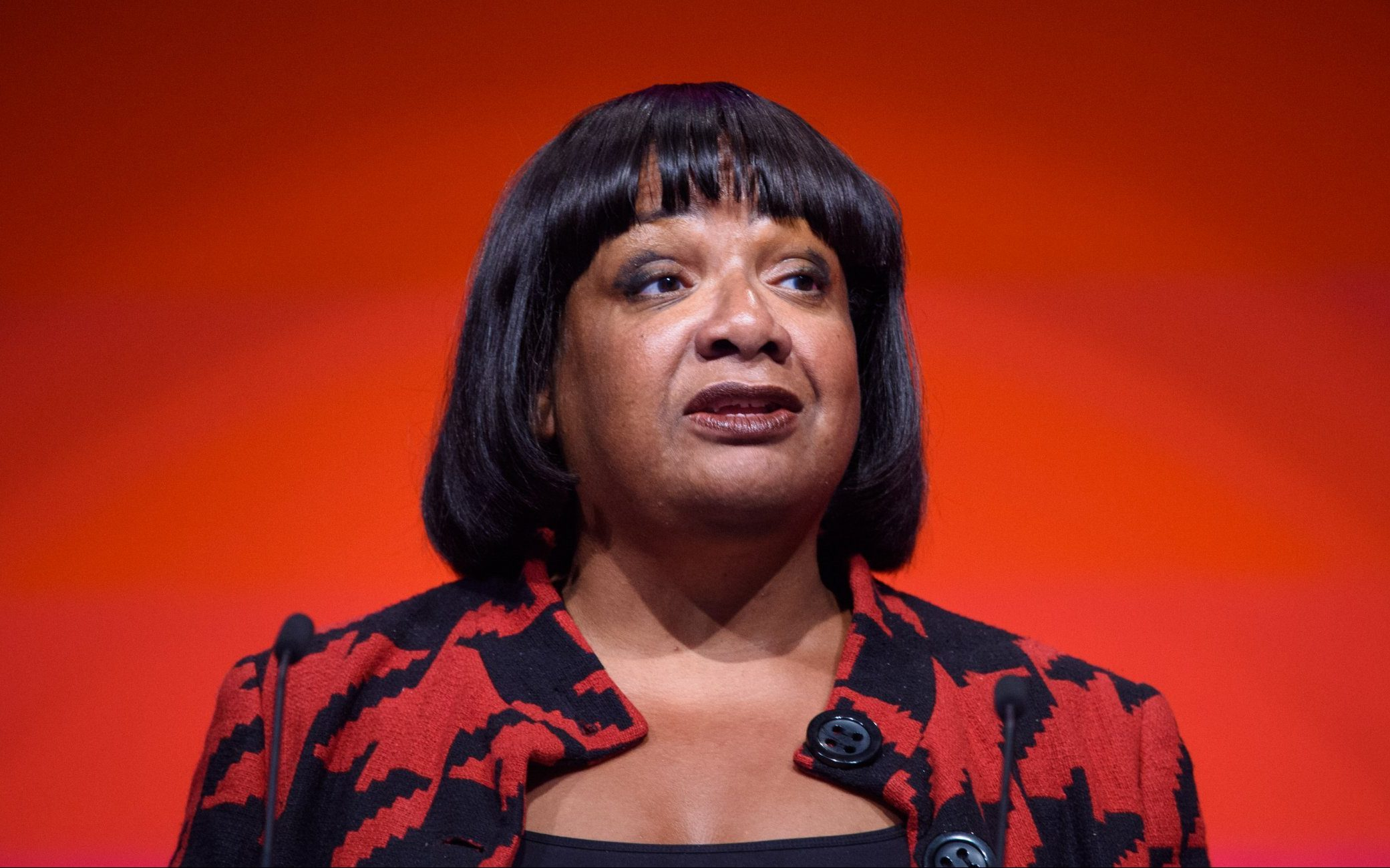 Shadow Home Secretary Diane Abbott speaks during the Labour Party annual conference at the Arena and Convention Centre (ACC), in Liverpool. Picture date: Tuesday September 25th, 2018. Photo credit should read: Matt Crossick/ EMPICS Entertainment.