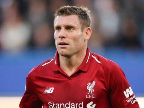 James Milner misses Liverpool vs Newcastle United with injury