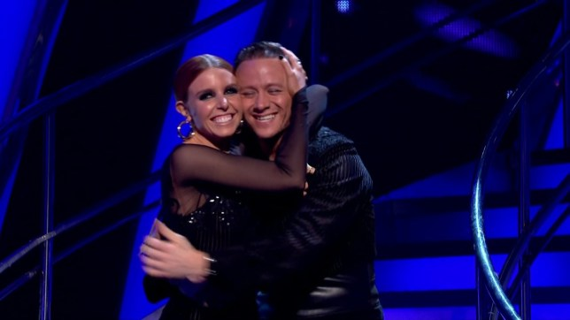 Stacey Dooley and Kevin Clifton are saved by the public during the results show of 'Strictly Come Dancing'. Broadcast on BBC One Featuring: Stacey Dooley, Kevin Clifton When: 25 Nov 2018 Credit: Supplied by WENN **WENN does not claim any ownership including but not limited to Copyright, License in attached material. Fees charged by WENN are for WENN's services only, do not, nor are they intended to, convey to the user any ownership of Copyright, License in material. By publishing this material you expressly agree to indemnify, to hold WENN, its directors, shareholders, employees harmless from any loss, claims, damages, demands, expenses (including legal fees), any causes of action, allegation against WENN arising out of, connected in any way with publication of the material.**