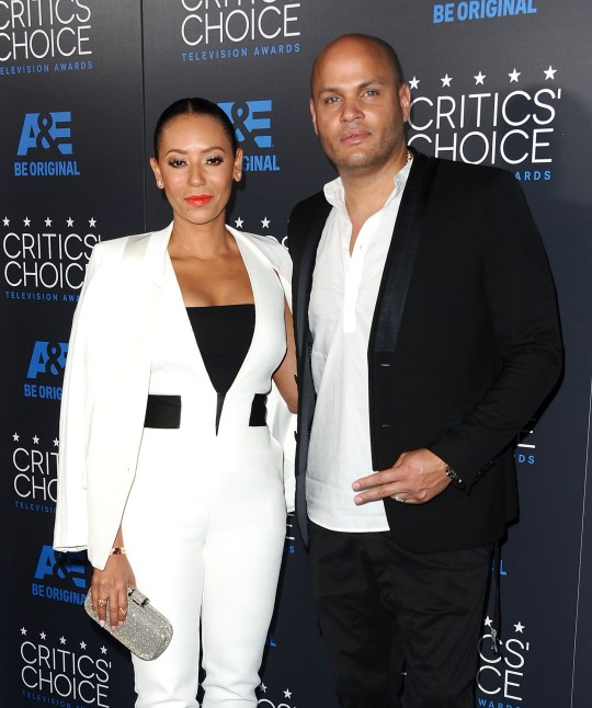 BEVERLY HILLS, CA - MAY 31: Melanie 'Mel B' Brown and Stephen Belafonte attend the 5th annual Critics' Choice Television Awards at The Beverly Hilton Hotel on May 31, 2015 in Beverly Hills, California. (Photo by Jason LaVeris/FilmMagic)