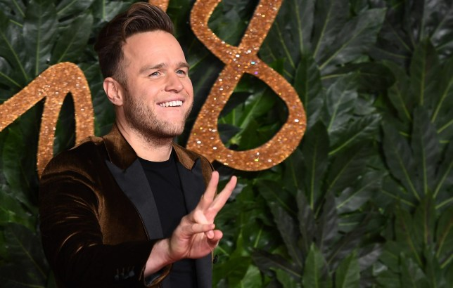 LONDON, ENGLAND - DECEMBER 10: Olly Murs arrives at The Fashion Awards 2018 In Partnership With Swarovski at Royal Albert Hall on December 10, 2018 in London, England. (Photo by Jeff Spicer/BFC/Getty Images for BFC)