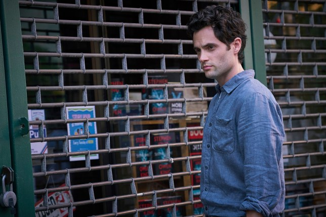 """This image released by Lifetime shows Penn Badgley in a scene from """"You."""" The program was named one of the top ten TV shows of 2018 by the Associated Press. (Lifetime via AP)"""